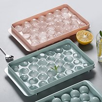 Diamond Round Ball Shape Ice Lattice with Removable Lids for Fruit Wine Ice Cube Maker DIY Ice Cube Mold Kitchen Tool Gadgets
