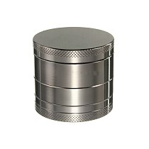 4 Layer Zinc Alloy Herb Grinder 40mm Herb Spice Grass Weed Tobacco Smoke Grinders for Men Smoking Accessories HY99