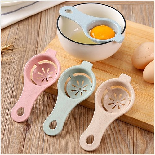1PC 13*6cm Plastic Egg Separator White Yolk Sifting Home Kitchen Accessories Chef Dining Cooking Kitchen Gadgets Kitchenware,Q