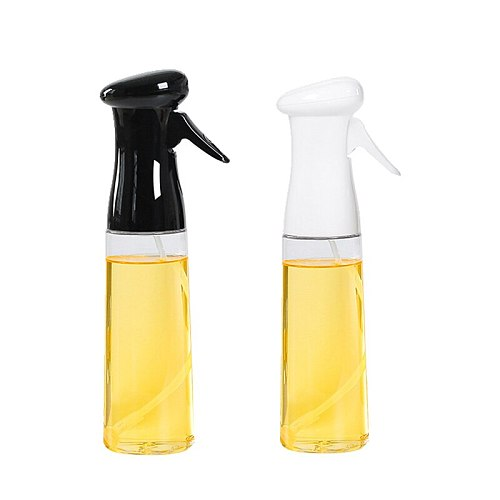 AMINNO 320ML Olive Oil Spray BBQ Cooking Kitchen Baking Olive Oil Sprayer Bottle Vinegar Bottle Oil Dispenser Salad