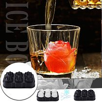 3d Rose Silicone Mold Ice Cube Maker Chocolate Mould Tray Ice Cream Diy Tool Whiskey Wine Cocktail Ice Cube Best Sellers #t2g