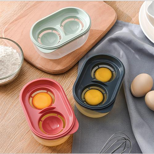 Stainless Steel/Ceramic Egg White Separator Baking Tools Eggs Yolk Filter Gadgets Kitchen Separating Funnel Spoon Egg Divider