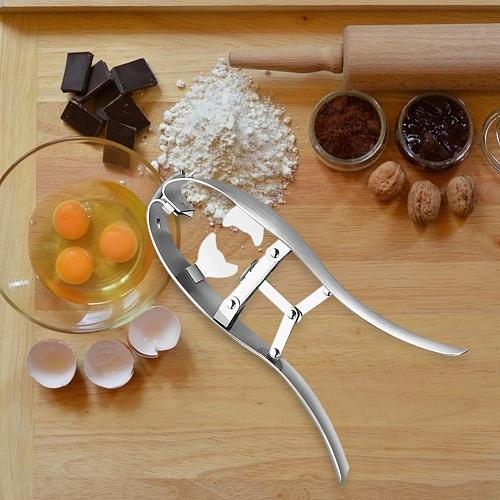 Stainless Steel Egg Scissors Eggshell Cutter Quail Egg Opener Egg Cutter Egg Topper Cracker Separator Cooker Cracker