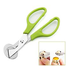 Pigeon Quail Bird Egg Opener Scissor Stainless Steel Cutter Clipper Kitchen Tool Help You Open Quail Egg Easily Easy to Use