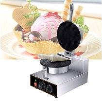 Electric Waffle Maker Crispy Egg Roll Maker Omelet Sandwich Pancake Pancake Pancake DIY Ice Cream Cone Maker