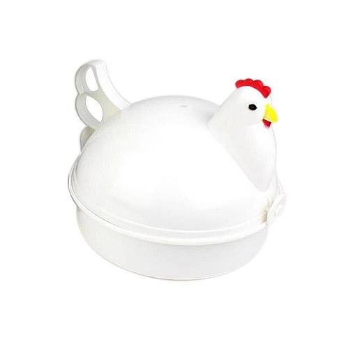 Microwave Oven Egg Steamer Egg Boiler Household Microwave Special 4 Egg Boiled Egg Shape Egg Shaped Steamed Egg