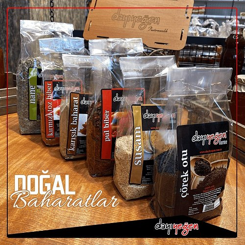 Dayıyeğen Natural Domestic Sumac 400 G 100% Traditional Natural Seasoning Quality Delicious Spice Awesome Flavors
