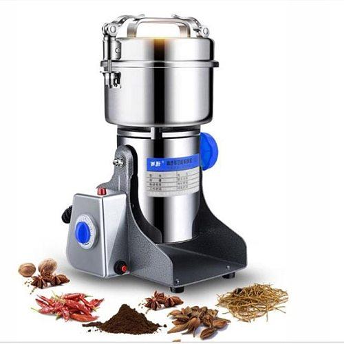 3000W Household 220V Small Kitchen Grain Mill Grinding Machine Grinding Superfine Dry Powder Milling Machine Sanqi grinder