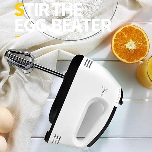 Multifunctional Eggbeater Steel Handheld Power Egg Plug Kitchen Electric Baking Egg Whisk Mixer Accessories EU To K8J1