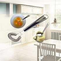 2021 top home decor Whisk Hand Egg Beater Stainless Steel Miracle Cream Mixing Tool Kitchen Tools товары для дома