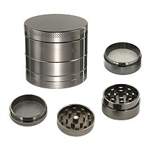 4 Layer Zinc Alloy Herb Grinder 40mm Herb Spice Grass Weed Tobacco Smoke Grinders for Men Smoking Accessories JW