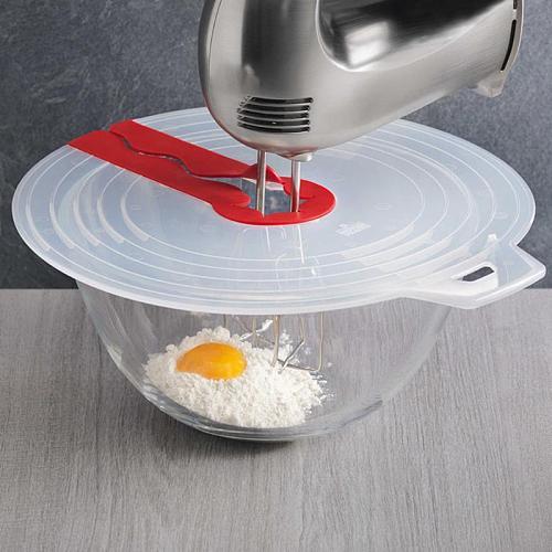 Egg Cream Bowl Whisks Screen Cover Baking Beat Eggs Splash Guard Bowl Lids Kitchen Cooking Tools