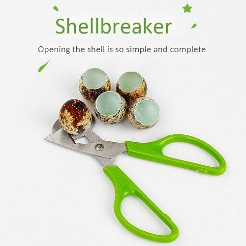 5 Pcs 304 Stainless Steel Quail Egg Scissors Household Kitchen Multifunctional Tool Egg Cutter