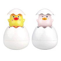 Baby Bath Toy Cute Penguin Egg Sprinkle Water Spray Toy