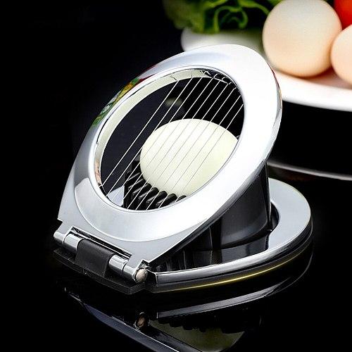 Multifunction Household Boiled Egg Cutter Fruit Slicer Kitchen Gadget Tool For Salted Eggs Mushroom Tomato Cutter Dropshipping
