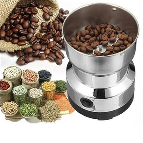 Electric Coffee Bean Grinder Stainless Steel Home Grinding Milling Machine Mill 220V Coffee Accessories Kitchenware Coffeeware