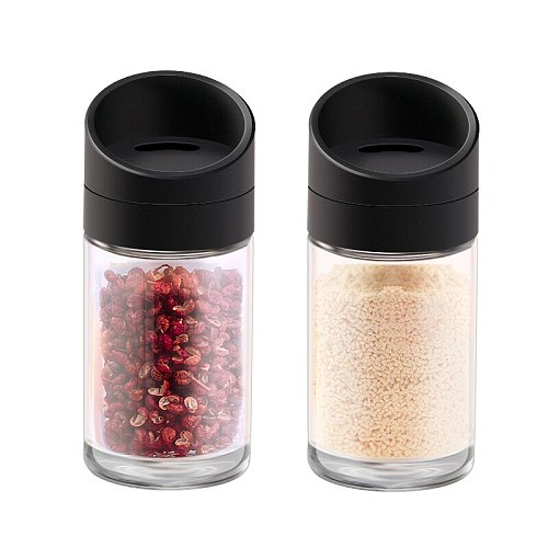 Aminno Shakers Silicone Rubber Oliv Pump Transparent Seasoning Organizer Garlic Keeperskitchen Spice Storag Mortars & Pestles