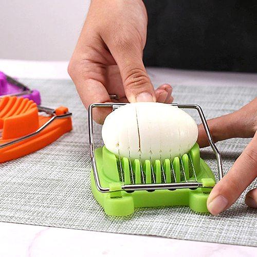 1pc Handheld Egg Slicer Mushroom Tomato Cutting Machine for Kitchen Accessories Vegetable Cutter Knife Gadget