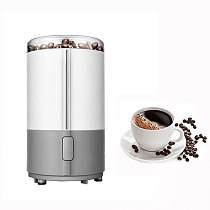 Electric Coffee Beans Grinder Spice Maker Herbs Nuts Cafe Mill 150W Home Kitchen Tool Stainless Steel Coffee Grinders Machine