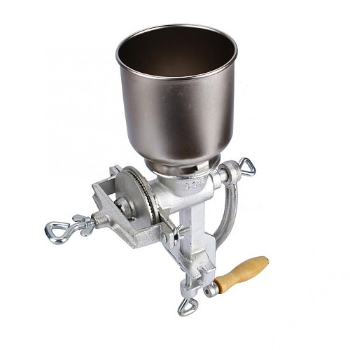 Manual Grains Mill Spice Grinder Table Clamp Corn Mill Flour Wheat Grain Nut Mill Kitchen Food Grinder Flour Powder Crusher