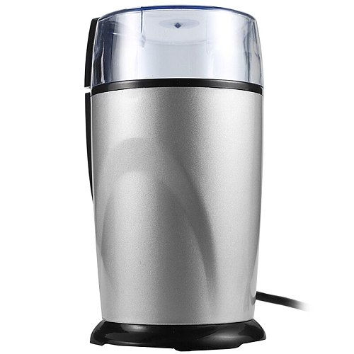 Electric Coffee Grinder Spice Maker Stainless Steel Blades Coffee Beans Mill Herbs Nuts Cafe Home Kitchen Tool Eu Plug