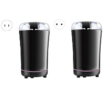 Electric Coffee Grinder with Stainless Steel Blade Noiseless Operation Suitable for Spices Herbs Nuts and Grains