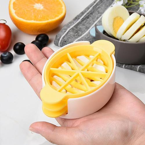 Household Egg Cutter Multifunctional Fruit Vegetable Egg Cutter Cutting Egg Slicers Kitchen Accessories Slicing Cooking Gadgets