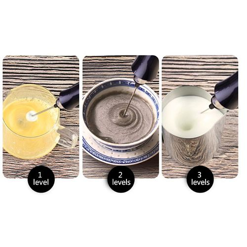 Multifunction Kitchen Mini Electric Handle Egg Beater Tool Rotatable Whisk for Milk Drink Coffee Shake Frother Mixer
