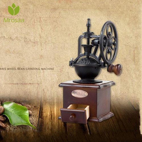 Manual Coffee Grinder Mini Kitchen Salt Pepper Grinder Powerful Beans Spices Nut Hand Coffee Bean Grind Molinillo Cafe