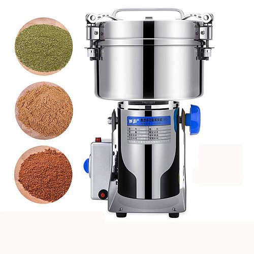 YTK Electric Coffee Grinder 304 Stainless Steel 2500G 4100W Powerful Beans Spices Nut Seed Coffee Bean