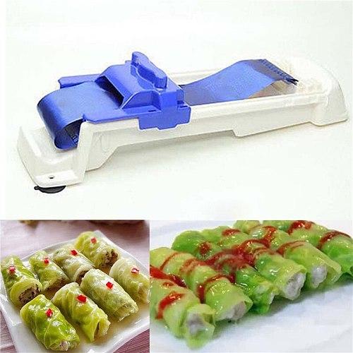 Creative Sushi Tool Stuffed Grape Cabbage Leaf Rolling Tools Gadget Roller Machine For Turkish Dolma Sushi Kitchen Bar