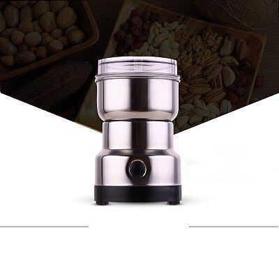 Portable Electric Coffee Beans Grinder Kitchen Cereals Nuts Beans Spices Milling Grinding Household Coffeeware Machine