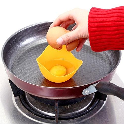 High Temperature Silicone Egg Boiler Warm Creative Silica Gel Egg Cooker Egg Steamer Egg Holder Egg