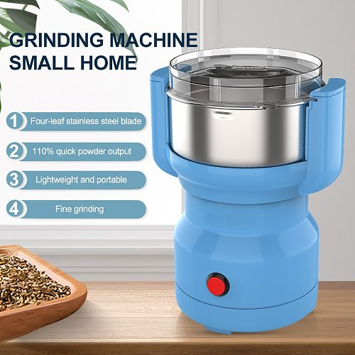 Electric Grinder Machine Coffee Milling Kitchen Cereals Nuts Beans Spices Grain Grinding Blender Automatic Coffe Grinder Machine