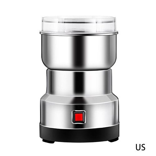 Electric Coffee Grinder Multifunction Stainless Steel Blade Cafe Spice Mill Blender Nut Bean Seeds Grinding Smash Machine