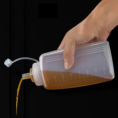 800ml Sauce Bottle Food Grade Convenient Temperature Resistance Honey Salad Condiment Dispenser for Cooking