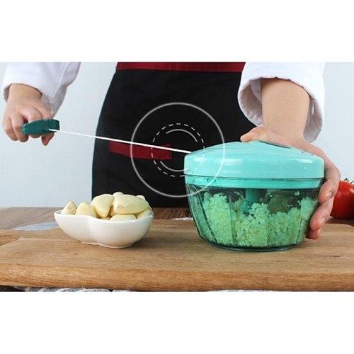 Quick Pull Manual Vegetable Chopper Hand Pull String Food Mincer Slicer Kitchen Garlic Onion Chopper Cutter-40