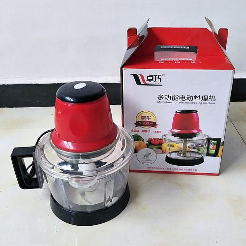 3L Meat Grinder Spice Garlic Vegetable Chopper Electric Automatic Mincing Machine High-quality Household Grinder Food Processor