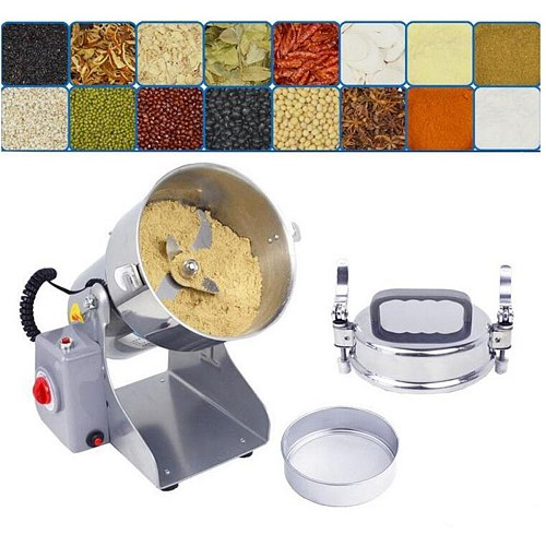 700g Electric Grains Spices Hebals Cereals Coffee Dry Food Grinder Mill Grinding Machine gristmill medicine flour powder crusher
