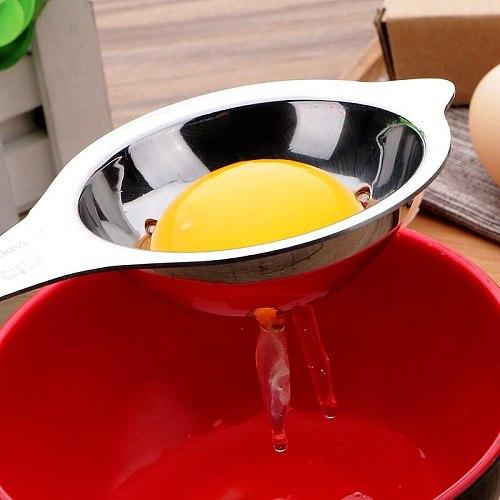 304 Stainless Steel Egg White Separator Egg Liquid Filter Baking Tool