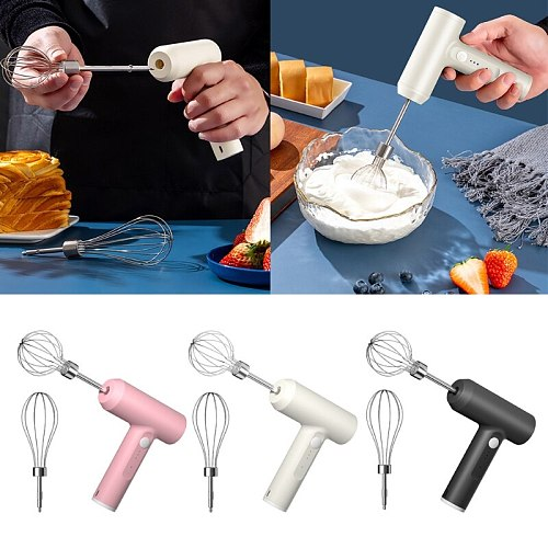 Hand Blender 3 Speed 3 Colors Stick Blenders with Milk Frother Egg Whisk for Smoothies Coffee Milk Foam Puree Baby Foods