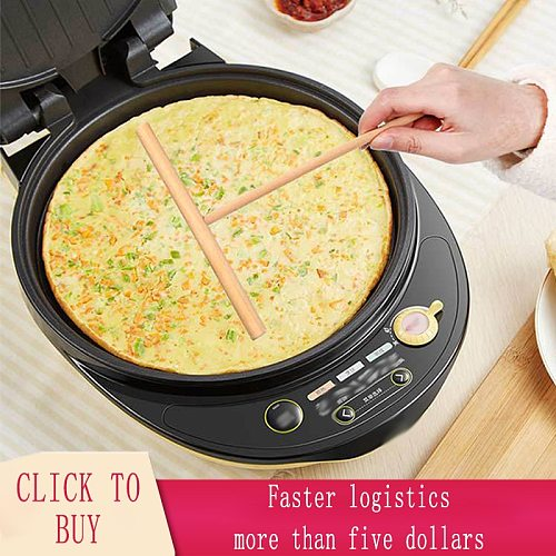T Shape Wooden Rake Round Batter Pancake Crepe Spreader Kitchen Tools DIY Batter Egg Cake Scraper Home Tool Kitchen Accessories