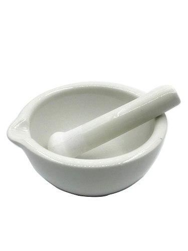 Chinese herb use mortar and pestle ceramic mortar stick grinding bowl 6cm/8cm/10/13/16cm