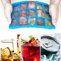 24 Grids Silicone Small Fruits Mold Ice Maker Making With Lid Eco-Friendly Cavity Tray Kitchen Accessories