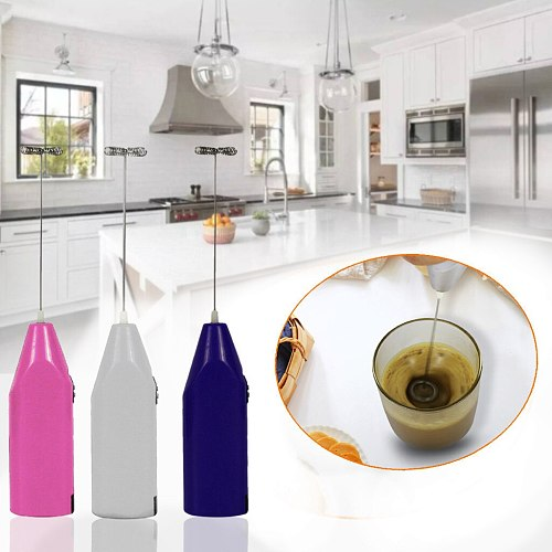 Hand- Held Mini Small-Scale Baking Cream Whisk Kitchen Electric Milk Frother Drink Foamer Whisk Mixer Stirrer Coffee Eggbeater