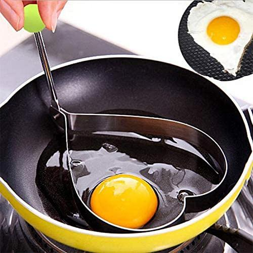 Creative Stainless Steel Omelet Maker Fried Egg Decoration Frying Egg Pancake Cooking Tools DIY Breakfast Egg Pancake Mold