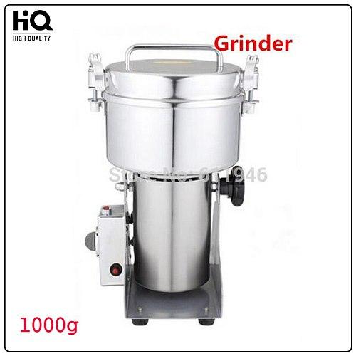 1000g Swing Grinder / Tea Grinder/Spice Grinder/Small Powder Mill, High Speed, power 3100w Herb Mills & Mincers YB-1000A