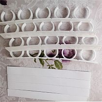 1Pcs Practical Home Clip Hooks Holder Gripper 4 Layers Spice Rack Organizer Wall Cabinet Door Hanging Spice Jars