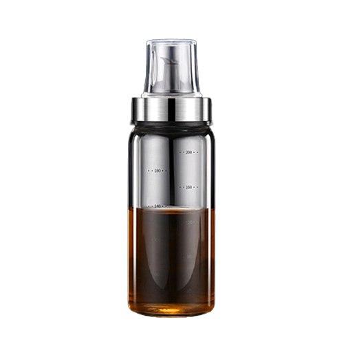 Leak Proof Oil Pot Borosilicate Glass Seasoning Bottle for Household Soy Sauce Vinegar Oil PLDI889