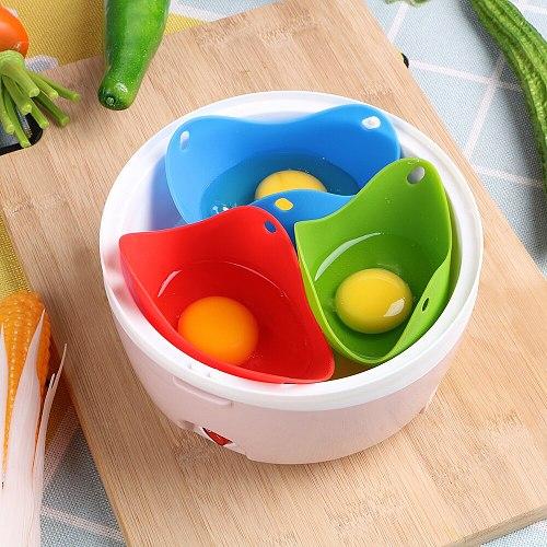 Silicone Egg Poacher Mold Poach Pods Egg Apparatus Egg Baking Poached Cup Kitchen Cookware Bakeware Tool